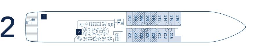 deck plan - deck 2